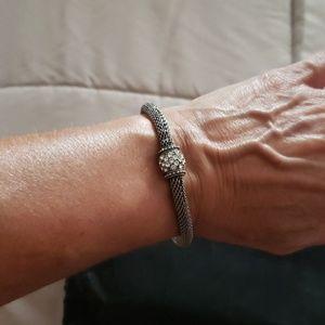 Silpada oxidized bracelet
